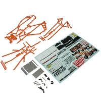KYOSHO - CARROSSERIE/ARCEAU JAVELIN - ORANGE OTB247OR