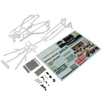 KYOSHO - BODY PARTS/ROLL BAR JAVELIN - WHITE OTB247W