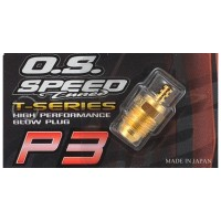 "O.S - P3 ""GOLD"" TURBO GLOW PLUG ""ULTRA HOT"" T71642720"