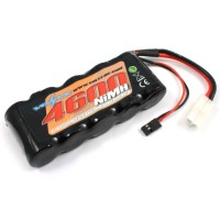 VOLTZ - BATTERIE RECEPTION 1/5 4600MAH 6.0V STICK W/BEC/JR PRISES VZ0135