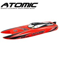 VOLANTEX - BATEAU RACENT ATOMIC 70CM BRUSHLESS RTR ROUGE V792-4R