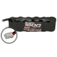 REEDY - BATTERIE MICRO PACK 1600 NiMH 7.2V FLAT AS618