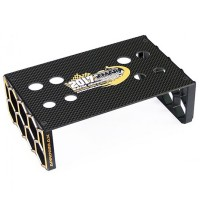 ARROWMAX - STAND DE VOITURE 1/10 BUGGY BLACK GOLD LIMITED EDITION WC AM172034