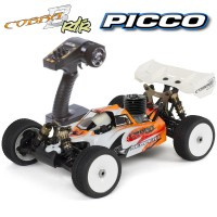 SERPENT - BUGGY 1/8 811 COBRA RTR WITH PICCO E1 DUAL START TX DTS3 SER600003E1