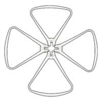 T2M - PROPELLER GUARD SET SPYRIT 3.0 (4PCS) T5181/03
