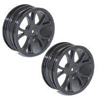 FTX - VANTAGE FRONT BUGGY WHEEL 2PCS - BLACK FTX6305B