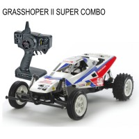 TAMIYA - GRASSHOPPER II 1/10 KIT SUPER COMBO 58643L