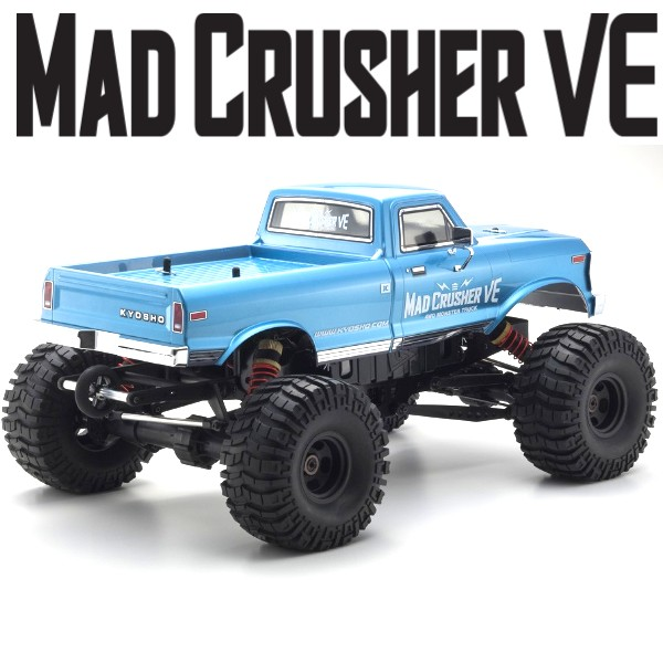 KYOSHO - MAD CRUSHER VE 1:8 4WD READYSET EP (KT231P-NEON8-R8 ESC) 34253