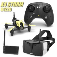 HUBSAN - X4 STORM RACING DRONE PACK W/LCD SCREEN & GOGGLES H122D