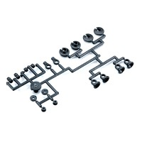 KYOSHO - PIECES PLASTIQUE AMORT. TRIPLE CAP TF5/TF5RS/ZX5SP/RB5 W5194-01