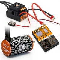 KONECT - COMBO ESC BRUSHLESS 100A WP + MOTOR 1900KV + PROGRAM BOX KN-COMBO-L1
