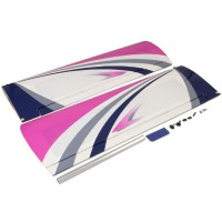 KYOSHO - MAIN WING SET CALMATO ALPHA 40 SPORTS/TRAINER (PURPLE) A1255-11P