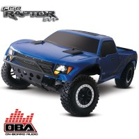 TRAXXAS - FORD RAPTOR 4x2 OBA - 1/10 BRUSHED TQ 2.4GHZ - iD 58064-2