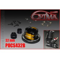 6MIK - EMBRAYAGE OPTIMA 4 POINTS ALU COMPLET 32MM NOIR POCS432B