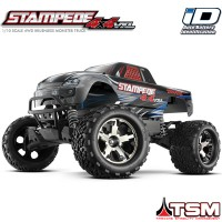 TRAXXAS - STAMPEDE 4X4 VXL TSM RTR (W/O BATTERY/CHARGER) 67086-4