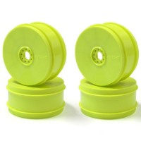KYOSHO - WHEEL INFERNO MP9 TKI4 (4) YELLOW-HARD IFH006KY-H