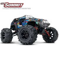 TRAXXAS - SUMMIT ROCK N' ROLL - 4X4 - 1/16 BRUSHED RTR 72054-5