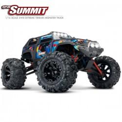 TRAXXAS - SUMMIT ROCK N' ROLL - 4X4 - 1/16 BRUSHED RTR 72054-5