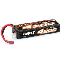 KONECT - BATTERIE LIPO 11.1V 4200MAH 40C 3S1P (SLIM PACK DEAN) KN-LP3S4200