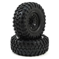 TRAXXAS - TRX-4 PRE-MOUNTED CANYON TRAIL 1.9 CRAWLER TIRES W/TRX-4 WHEELS (S1) (2) 8272