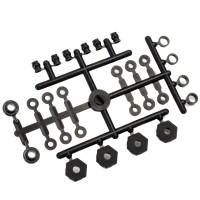 KYOSHO - HEXAGONES DE ROUE ULTIMA SC / RB6 UM603B