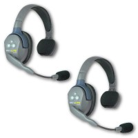 EARTEC - CASQUE DE COMMUNICATION UltraLITE 2 PERSONNES (2 CASQUES, BATTERIE/CHARGEUR) UL2S