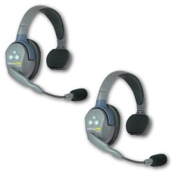 EARTEC - UltraLITE 2 PERSON SYSTEM (W/2 SINGLE HEADSETS, BATT/CHARG) UL2S