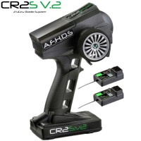 ABSIMA - RADIO ABSIMA CR2S V2 2.4GHZ + 2 RECEPTEUR 2000101
