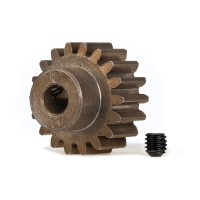 TRAXXAS - HARDENED STEEL MOD 1.0 PINION GEAR W/5MM BORE (18T) 6491X