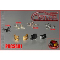 6MIK - SHOES & SPRINGS 20PCS FOR OPTIMA CS400 POCS401