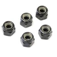 KYOSHO - NYLON LOCK NUTS M4 x5.5 (5) 1-N4055N