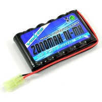 VOLTZ - 7.2V 2000mah AA BATTERY PACK W/ MINI TAMIYA PLUG VZ0065