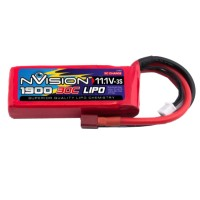 NVISION - BATTERIE LIPO 3S-11.1V-1900-30C - DEANS NVO1809