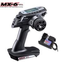 SANWA - RADIO MX-6 + RECEPTEUR RX391W WATERPROOF 101A32571A
