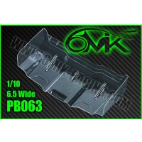 6MIK - 1/10 TT LEXAN WING - 6.5 WIDE (2PCS) PB063