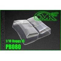 6MIK - AILERONS LEXAN 1/10 TT JC (2PCS) PB080