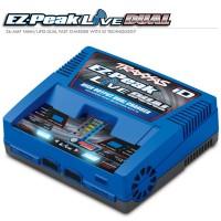 TRAXXAS - CHARGEUR DOUBLE RAPIDE EZ-PEAK LIVE AC LIPO/NIMH 200W 2973G