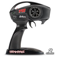 TRAXXAS - EMETTEUR TQ 2,4 GHZ 2 VOIES 6516