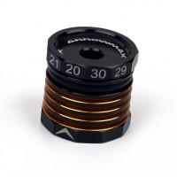 ARROWMAX - JAUGE DE HAUTEUR CYLINDRIQUE AJUSTABLE 20-30MM BLACK GOLDEN AM171095