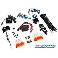 TRAXXAS - KIT COMPLED LED + ALIMENTATION 3V -0.5A FORD BRONCO 8035