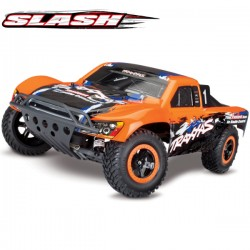 TRAXXAS - SLASH 4x2 ORANGE EDITION 1/10 BRUSHED TQ 2.4GHZ - iD 58034-1-ORNG