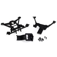 TRAXXAS - BODY MOUNTS FRONT & REAR X-MAXX 7715