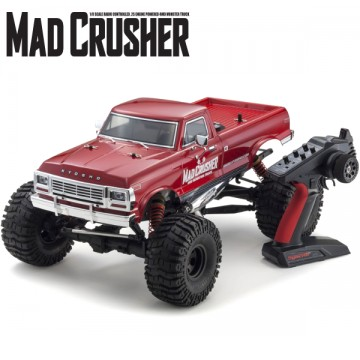 KYOSHO - MAD CRUSHER NITRO 1:8 GP 4WD READYSET (KT231P-KE25) 33152B