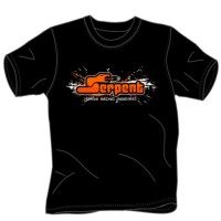 SERPENT - T-SHIRT SERPENT SPLASH BLACK (M) SER190195