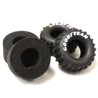 KYOSHO - REAR TYRES (2) SCORPION 2014 - MEDIUM SCT002M