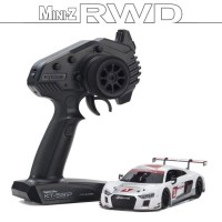 KYOSHO - MINI-Z RWD AUDI R8 LMS 2015 BLANCHE (W-MM/KT531P) 32323AS