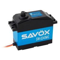 SAVOX - SERVO 1/5EME WP SAVOX DIGITAL 35KG / 0.15SEC. 7.4V SW-0240MG