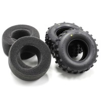 KYOSHO - REAR TYRES (2) SCORPION 2014 - MEDIUM SCT002MB