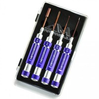 ARROWMAX - MINI TOOLSET 4 PIECES WITH PLASTIC CASE AM290910