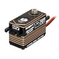 KONECT - SERVO DIGITAL LOW PROFIL 12KG 0.07S PIGNONS METAL SERIE RACING KN-1207HVLP